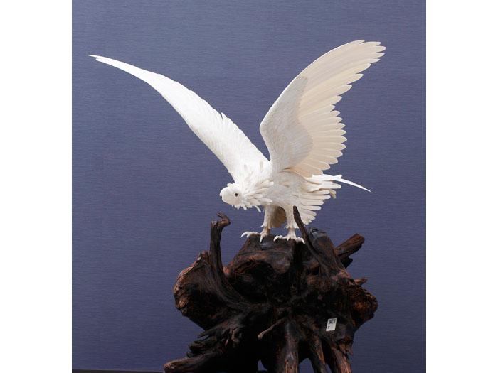 象牙製 鷲