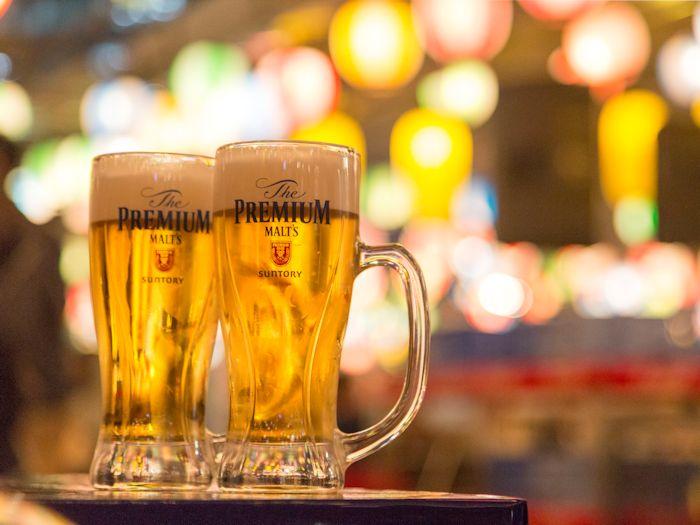 柳橋ビアガーデンで今年も乾杯!