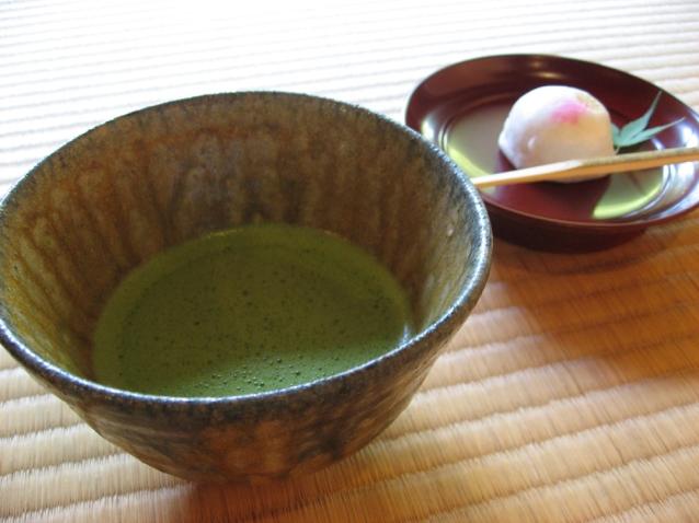 季節の和菓子とお抹茶セット