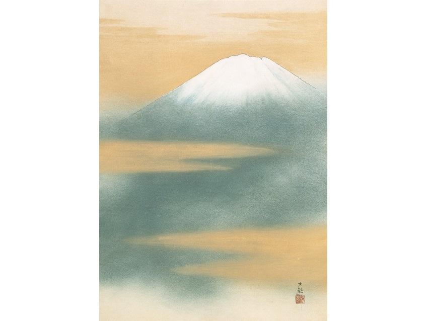 横山大観「霊峰不二」