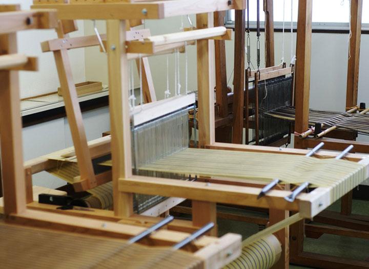 石田縞手織りセンター