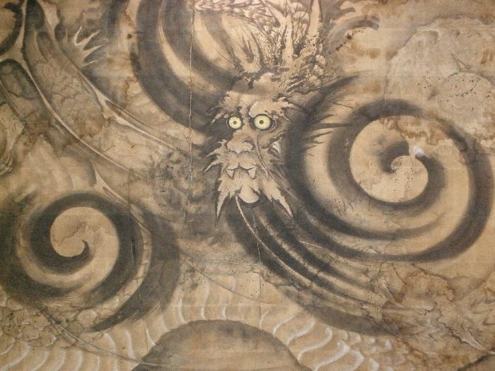 静岡県指定有形文化財 八方にらみの龍