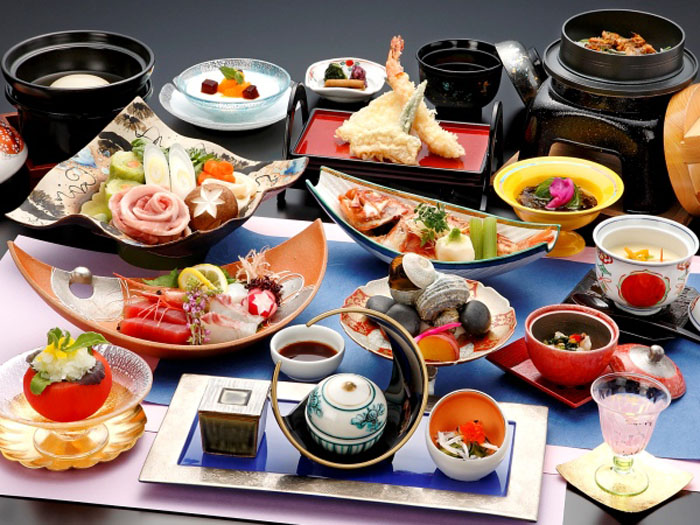「旅館deランチ プチ贅沢プラン」の料理(イメージ)