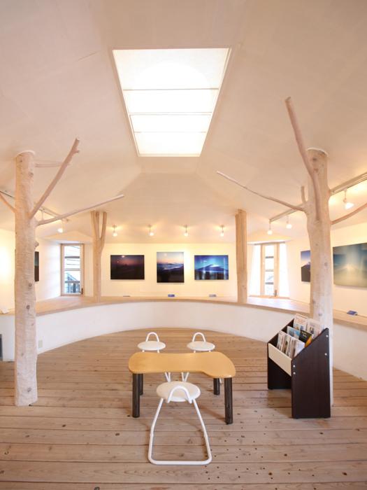 2階ギャラリーはレンタルスペースとして貸し出している