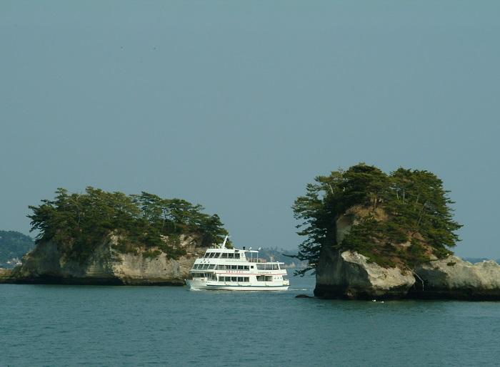 芭蕉も感動した松島の島々を遊覧