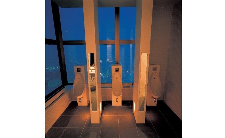 眺望トイレ
