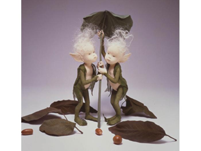 作品「木の葉の精」1986