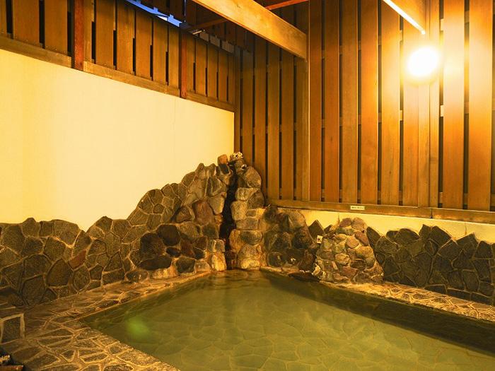 風呂のほかサウナもある