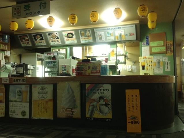 2階飲食コーナーカウンター