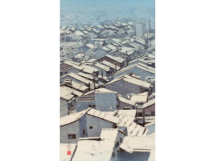作品『雪の金沢』