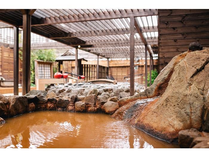 太閤の岩風呂