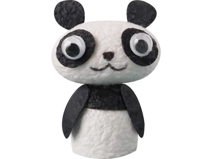 まゆ玉クラフト「パンダ」