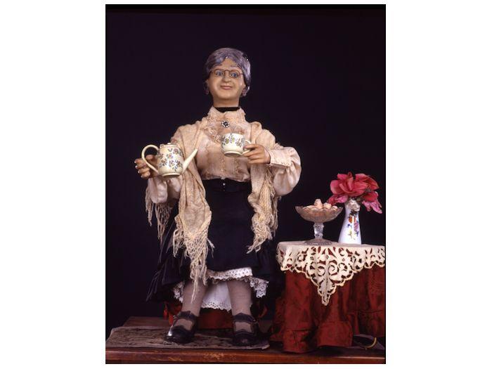 ヨーロッパのアンティーク人形