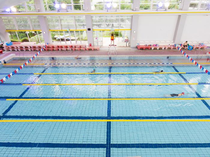 競泳用プールも