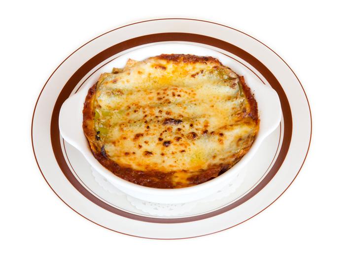 チーズがとろけるラザニア