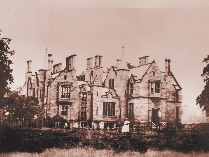 1860年撮影のロックハート