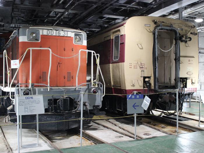 車両甲板 鉄道車両を輸送するためのスペース