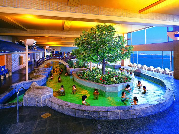 龍宮の湯(男性大浴場)