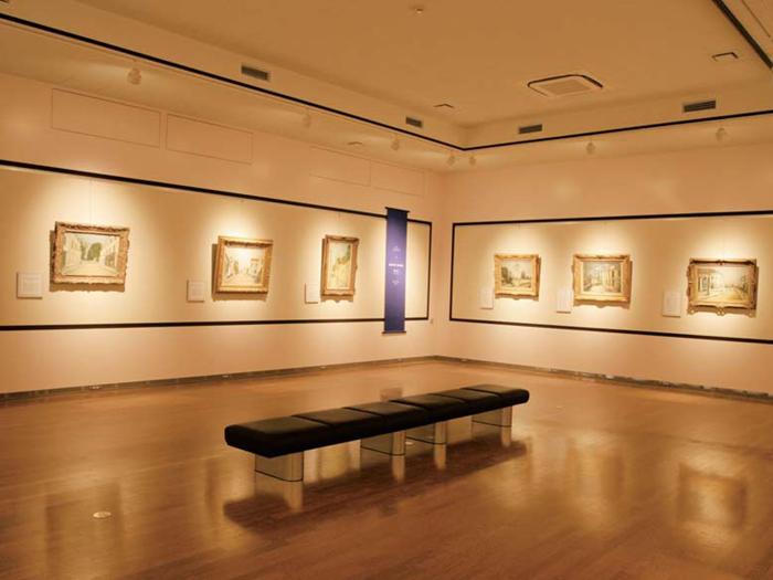 モーリス・ユトリロの作品を展示