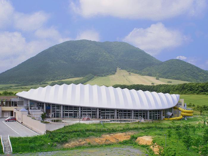 薬莱山を望むスポーツパーク