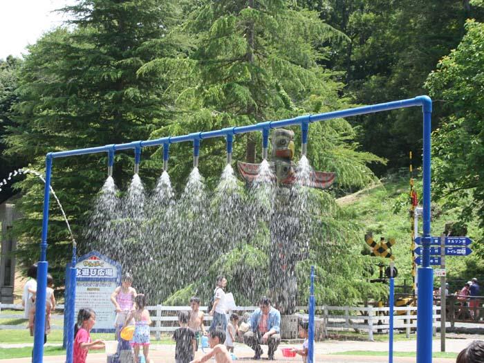 わんぱく水遊び広場で遊ぼう