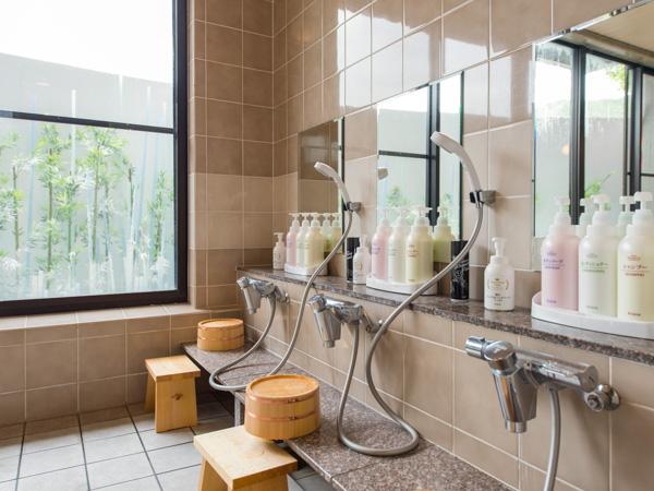 清潔感のある浴場