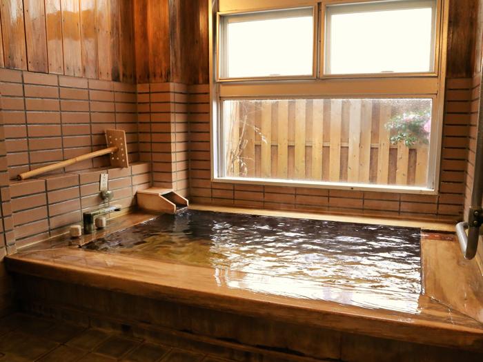 温泉付き個室