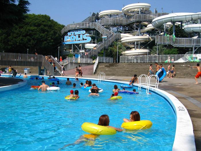 【夏】1周350mの流れるプール