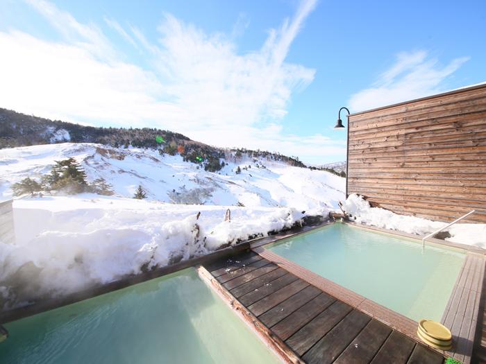 冬の露天風呂1