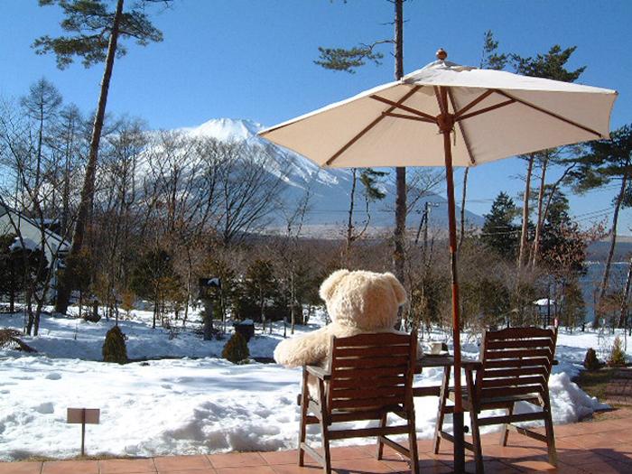 晴れた日の雪景色も素晴らしい