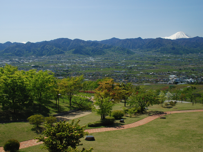 富士山を望む眺望抜群のホテル
