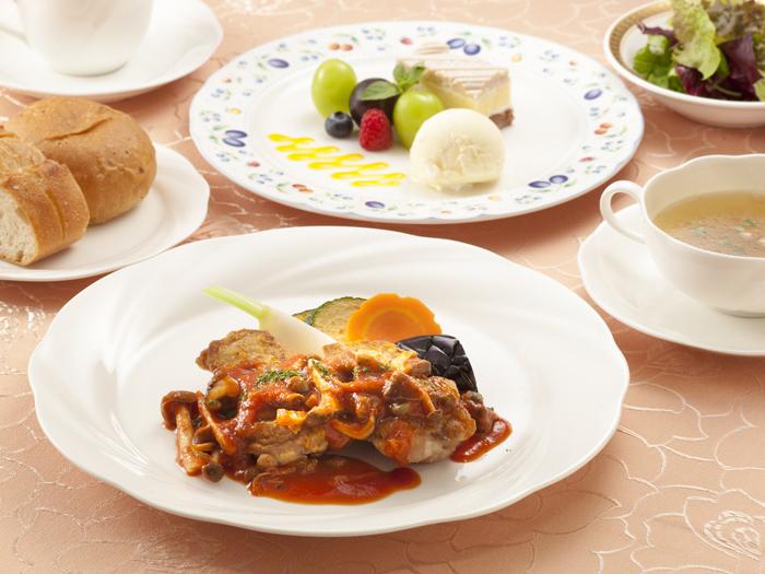 西欧料理 ラ・コリーナのランチ