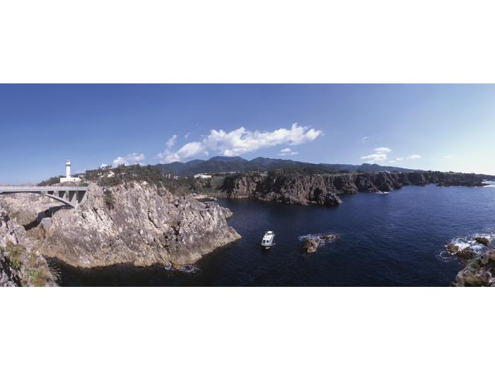 揚島沖からのパノラマ