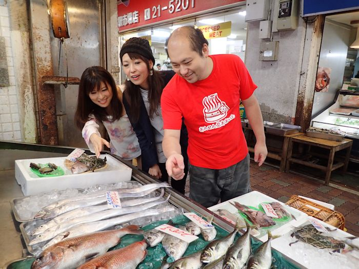食べたい海鮮を自分で選ぼう!