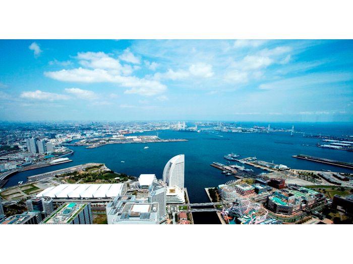 横浜ランドマークタワー69階展望フロア スカイガーデン