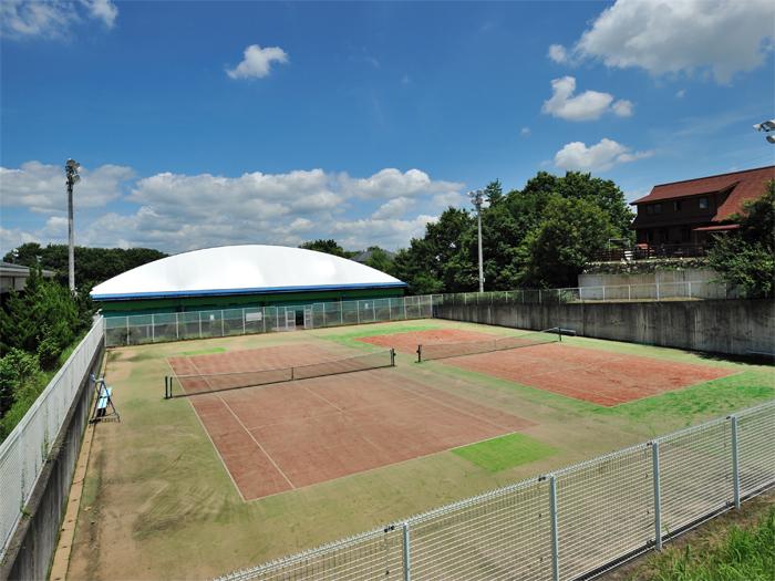 テニスコート屋外