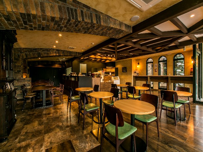松島観光のひと休みにも利用できるミュージアムカフェ
