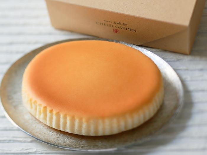 ロングセラー商品「御用邸チーズケーキ」