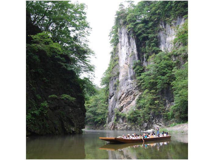 日本百景・名勝の猊鼻渓