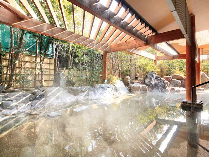 一の湯 露天風呂