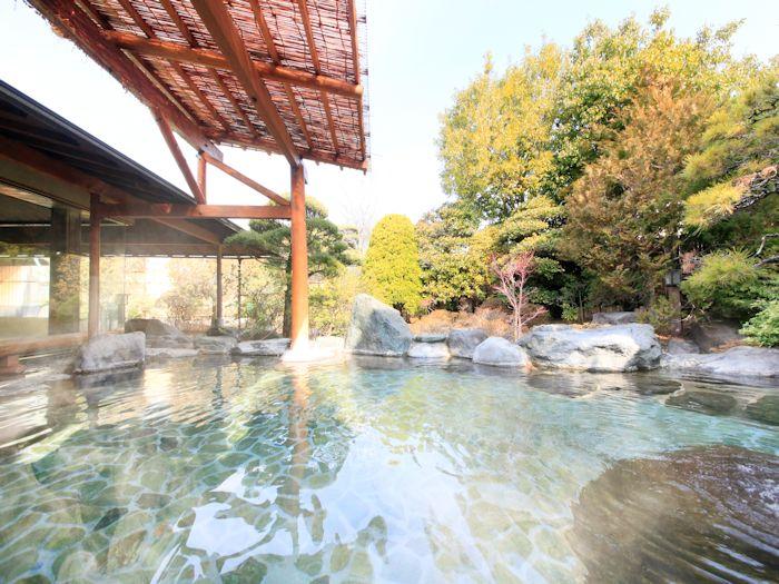 二の湯 露天風呂