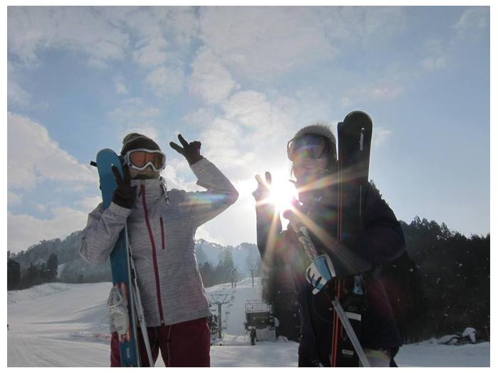 場 スキー 三川 温泉