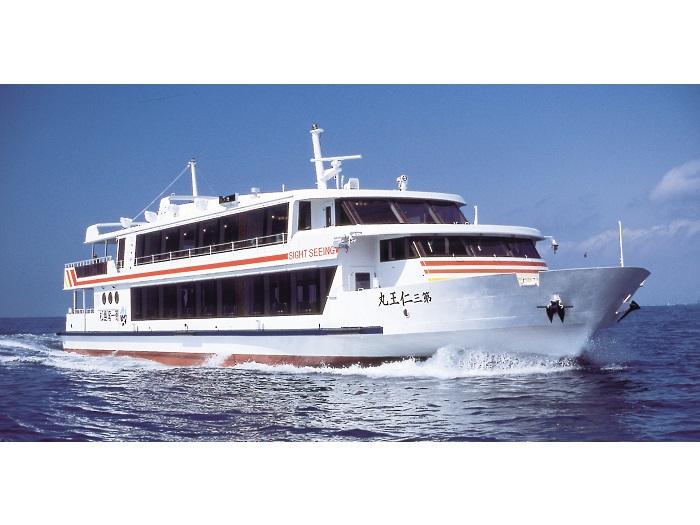 松島湾内一周定期観光船