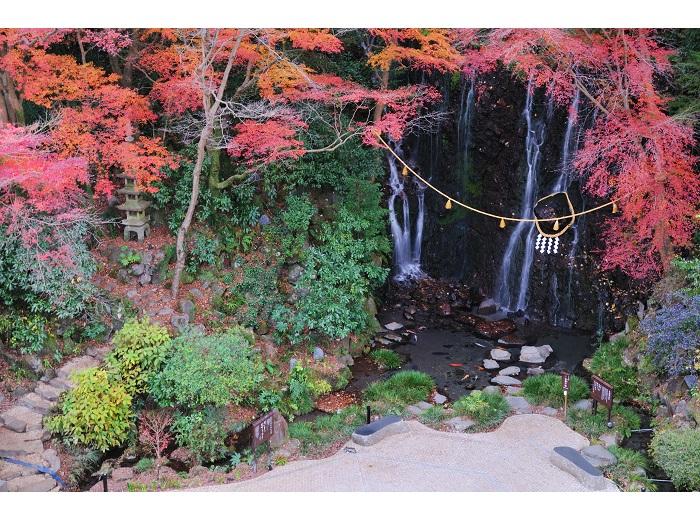 玉簾の瀧(紅葉)