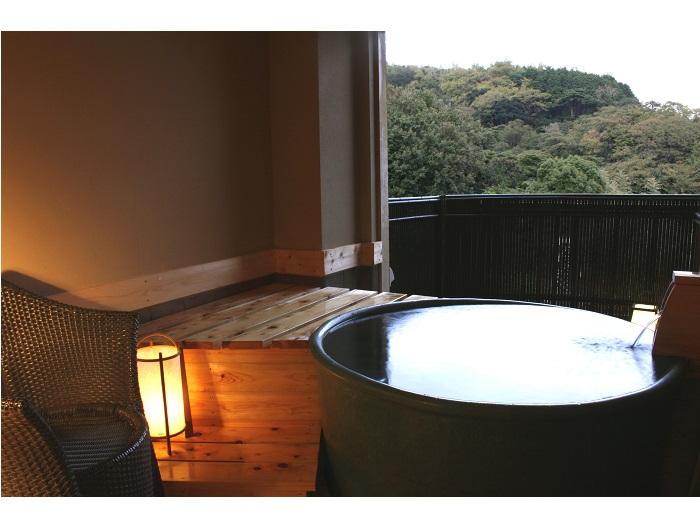 貸切風呂(陶器)