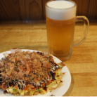 ほおづき 生ビールまたはお好み焼き 選べる回数券(11回券)