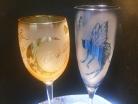 ワイングラスorシャンパングラス体験コース