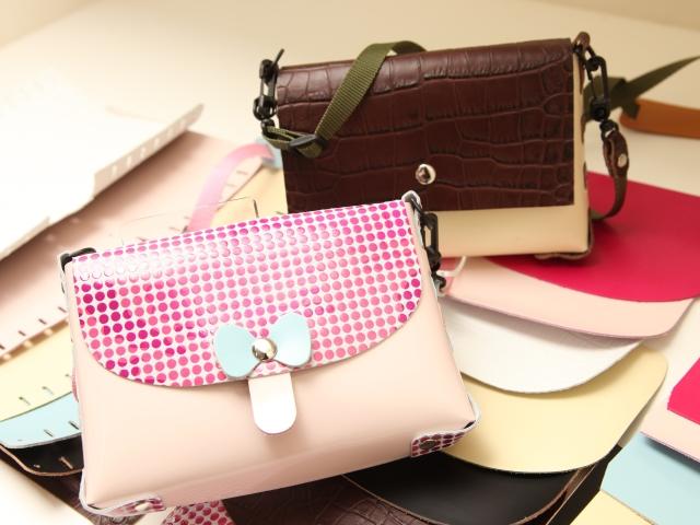 [開催へ向け充電しております。。]バッグ職人の仕事★世界で1つだけのこだわりバッグを作ろう≪10:00開催/1日2回開催≫[アウトオブキッザニアinすみだ/現地集合/日帰り/東京/旅いくオリジナル]