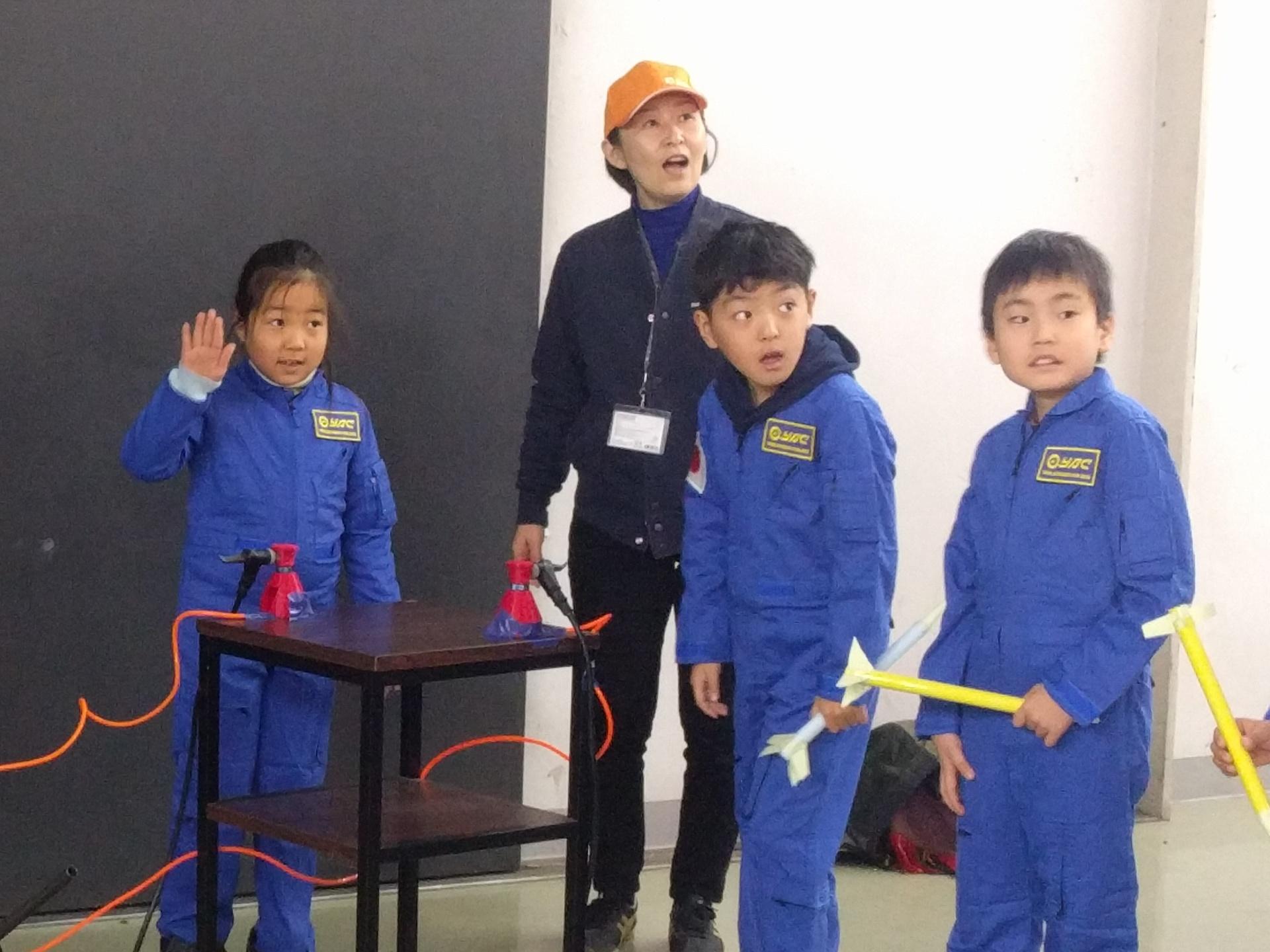 [終了]ブルースーツを着て宇宙開発ミッションに挑戦!ロケット編≪13:15開催/1日2回開催≫[現地発着/日帰り/茨城/旅いくオリジナル]