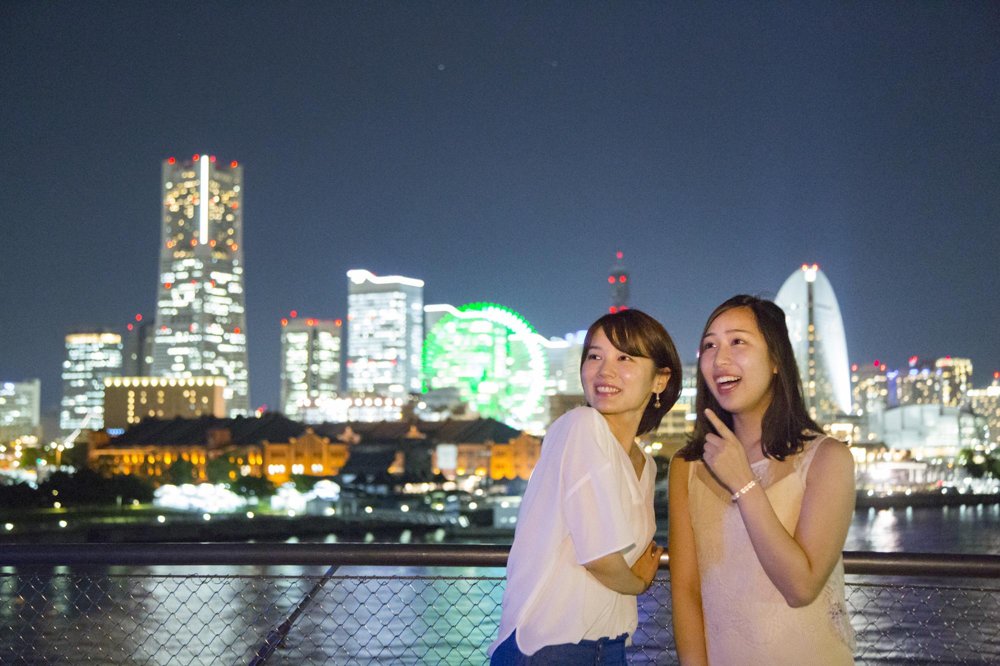 ★ 横浜 極上 絶景・夜景ツアー☆彡<ナイトクルーズコース>